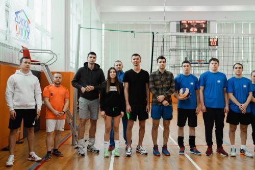 Товарищеский турнир по волейболу 09.02.2020
