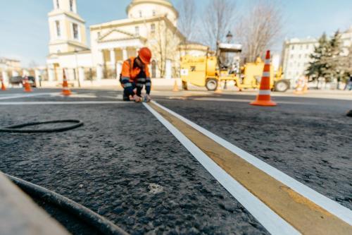 Большая Никитская улица. Апрель, 2020 год